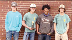 PHS welding team places second in Capital Federation