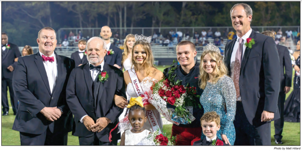 PHS Homecoming Queen Collins Doster