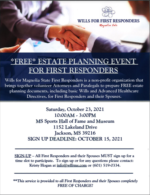 Wills For First Responders